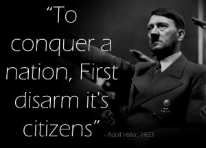 hitler disarm gun